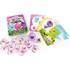 Настольная игра Hatchimals игровые карты + коллекционная фигурка (98418)