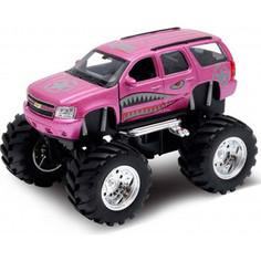 Игрушечная машинка Welly модель машины 1:34-39 Chevrolet Tahoe Big Wheel Monster (47002S)