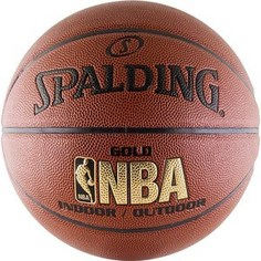 Мяч баскетбольный Spalding NBA Gold Series Indoor/Outdoor (р.7)