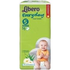 Libero Подгузники детские Every Day экстра лардж 11-25кг 56шт упаковка мега