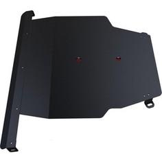 Защита картера и КПП АвтоБРОНЯ для Toyota Vista (1998-2003), сталь 2 мм, 111.05755.1