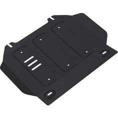 Защита картера Rival для Isuzu D-Max (2012-н.в.), сталь 3 мм, 222.9102.1