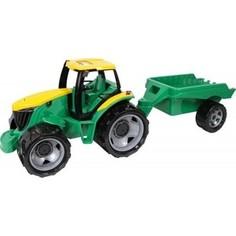 Игрушечная машинка Lena Трактор-гигант c прицепом в подарочной упаковке 91 см (2122) Лена