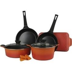 Набор посуды 5 предметов Frybest Orca (ORCA-N20)