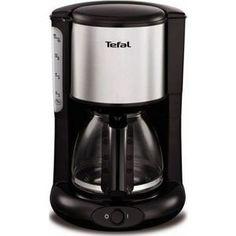 Кофеварка Tefal CM361838 серебристый/черный