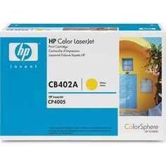 Картридж HP CB402A