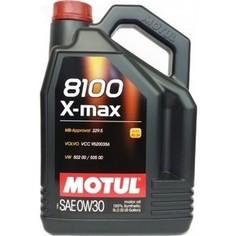 Моторное масло MOTUL 8100 X-max 0W-30 5 л