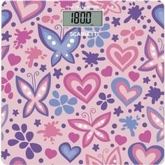 Весы Scarlett SC-BS33E092 розовый/рисунок