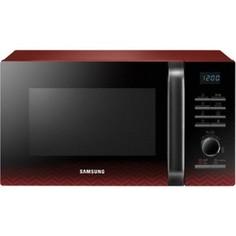 Микроволновая печь Samsung MG23H3115PR черный/красный