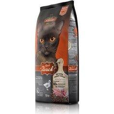 Сухой корм Leonardo Adult Duck с уткой для здоровья кожи и шерсти для кошек 15кг (758335/755425)