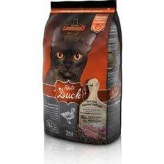 Сухой корм Leonardo Adult Duck с уткой для здоровья кожи и шерсти для кошек 2кг (755225/758319 )