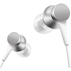 Наушники Xiaomi Mi In-Ear Basic silver