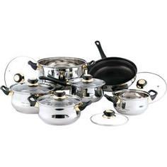 Набор посуды из 12 предметов Bekker Classic (BK-224)