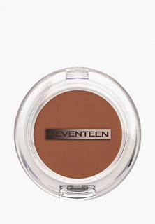 Румяна Seventeen Seventeen. т.14 матовые шелковистые компактные сливочно-коричневый