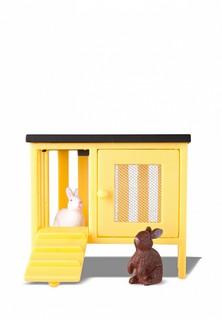 Набор игровой Lundby животные для домика Смоланд Кролики и домик