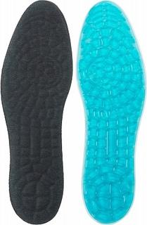 Стельки массажные женские Solers, размер 36-40