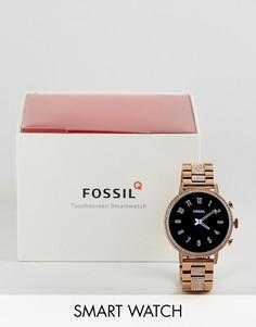 Золотистые смарт-часы Fossil FTW6011 Gen 4 Q Venture, 40 мм - Золотой