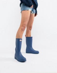 Синие высокие резиновые сапоги Hunter Original Play - Синий