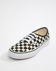 Черно-белые кроссовки Vans Authentic - Мульти