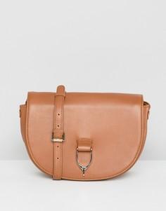 Кожаная сумка Paul Costelloe - Рыжий