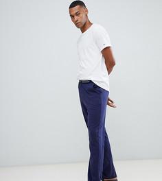 Бело-синий пижамный комплект из футболки с круглым вырезом и штанов Tommy Hilfiger - Темно-синий