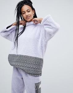 Флисовая oversize-куртка Penfield sylvan - Фиолетовый