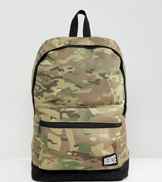 Рюкзак с камуфляжным принтом Reclaimed Vintage inspired - Зеленый