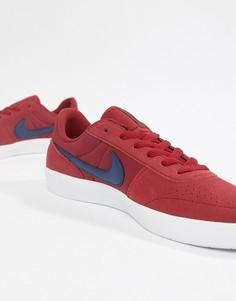 Красные кроссовки Nike SB Team Classic AH3360-600 - Красный