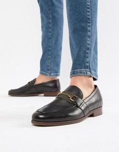 Черные кожаные лоферы ALDO - Черный