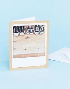 Поздравительная открытка с надписью you are a family Pickmotion - Мульти