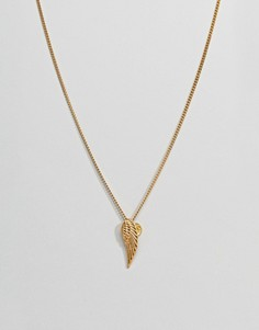 Золотистое ожерелье Mister Archangel - Золотой