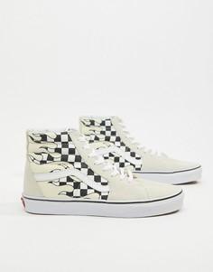 Высокие белые кроссовки Vans SK8 VA38GERX8 - Белый