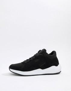 Черные кроссовки SikSilk - Темно-синий