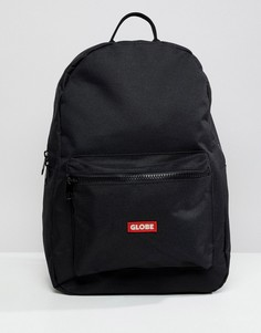 Черный рюкзак с логотипом на кармане Globe - Черный