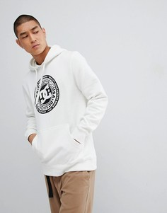Худи белого цвета с логотипом на груди DC Shoes - Белый