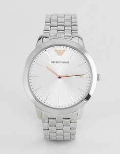 Часы из нержавеющей стали Emporio Armani AR2484 - Серебряный