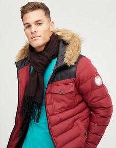 Бордовый шарф New Look - Красный