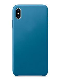 Аксессуар Чехол APPLE iPhone XS Max Leather Case Cape Cod Blue MTEW2ZM/A