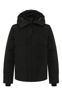 Пуховая куртка Macmillan на молнии с капюшоном Canada Goose