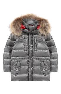 Пуховая куртка с капюшоном Add