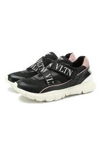 Комбинированные кроссовки Valentino Garavani Heroes Her Valentino