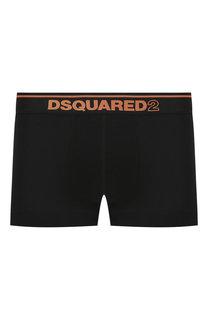 Хлопковые боксеры с широкой резинкой Dsquared2