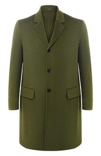 Однобортное пальто из смеси шерсти и кашемира Acne Studios