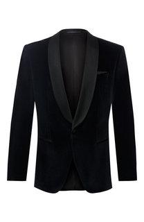 Однобортный пиджак из хлопка BOSS