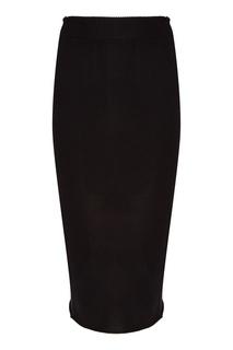 Черная юбка миди Myone