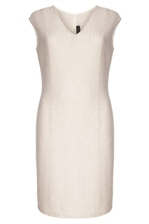 Платье-миди без рукавов St. John