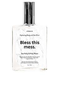 Успокаивающая вода и эликсир для волос bless this mess - anese