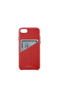 Кожаный чехол для iphone 6/7/8 карт - Casetify