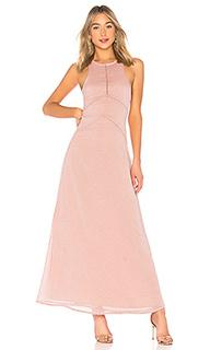 Макси платье allegra - House of Harlow 1960