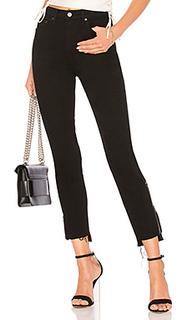 Черные джинсы с молнией сбоку kendall - GRLFRND